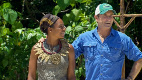 Fun Fact: Tasha is the first black woman to win immunity since Vecepia Towery in the fourth season