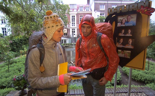 "Abbie and Ryan are hit by the U-Turn twist in ""The Amazing Race"""