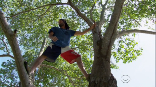 If Shirin can be trusted, Mike might be able to break his vow of celibacy up in these trees